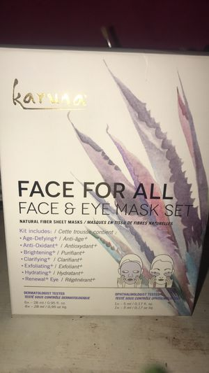 Face For All Face & Eye Mask Set for Sale in Phoenix, AZ