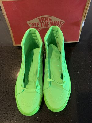 Vans neon green size 12 for Sale in Everett, WA
