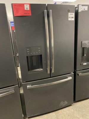 New GE Black Slate French Door Refrigerator 1 Year Manufacturer Warranty for Sale in Gilbert, AZ