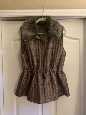 Ac-tic-ology fur vest jacket 1X size new for Sale in Riverview, FL