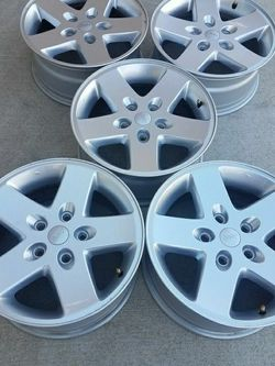 RIMS WHEEL. JEEP WRANGLER, 2016 .OEM FACTORY 17 'X 7.5' GOOD CONDITION for Sale in South Elgin,  IL