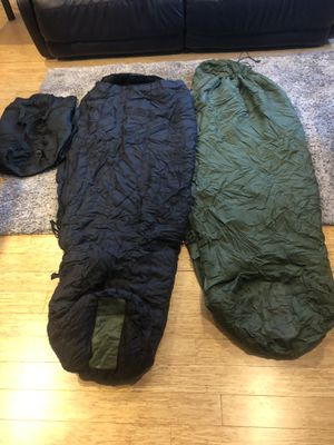 US Army sleeping bag system for Sale in Seattle, WA