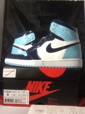 Nike Air Jordan 1 UNC size 8 for Sale in Springfield, VA
