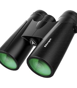 12x42 Powerful Binoculars for Adults with Clear Low Light Vision - Large View Eyepiece Binoculars for Birds Watching Hunting Travel for Sale in Rancho Cucamonga,  CA