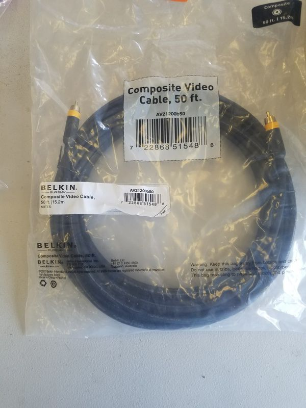 Belkin Composite Video 50ft Cable