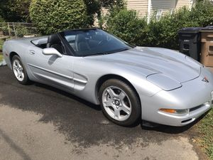 Silver 98 Chevy Corvette for Sale in Stamford, CT