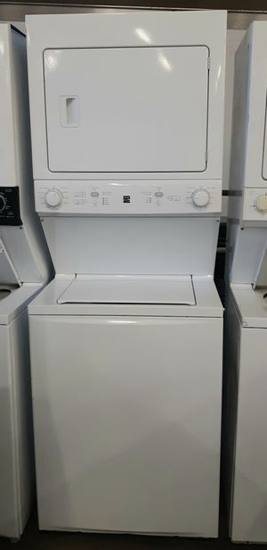 Kenmore stackable 27 washer and electric dryer for Sale in Phoenix, AZ