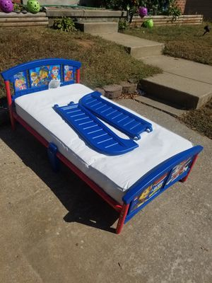 Delta Children Nick Jr Paw Patrol Toddler Bed / Kolcraft Crib Mattress for Sale in Nottingham, MD