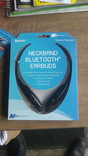 Neck band Bluetooth earbuds for Sale in Portland, OR