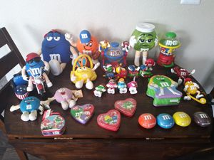 M&M collection, about 40 pieces... clock, radios, dispensers trinkets and more for Sale in Denver, CO
