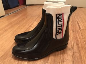 Nautica new rain boots size 9 and 10 for Sale in Annandale, VA