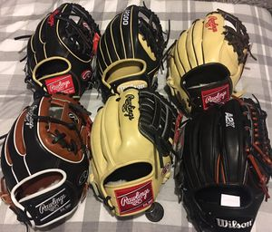 Rawlings pro preferred baseball glove, Wilson A2k, $240 obo new!!!!! for Sale in Chino Hills, CA