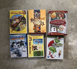 12 DVD movies/shows for kids for Sale in Torrance, CA