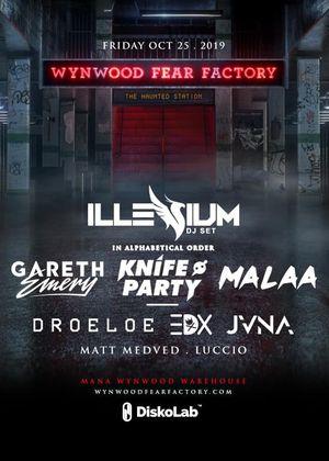Wynwood Fear Factory 2019 (2 tickets) for Sale in Miami, FL