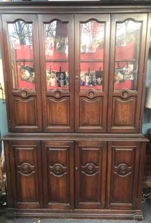 REDUCED PRICE!! BEAUTIFUL CHINA CABINET for Sale in Zebulon, NC