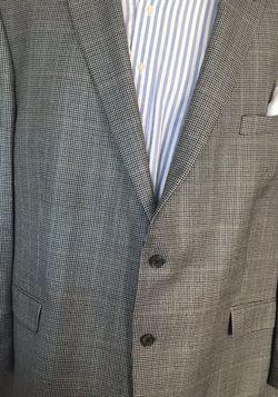 Lauren Ralph Lauren 54L Houndstooth Silk & Wool Blazer for Sale in Austell,  GA