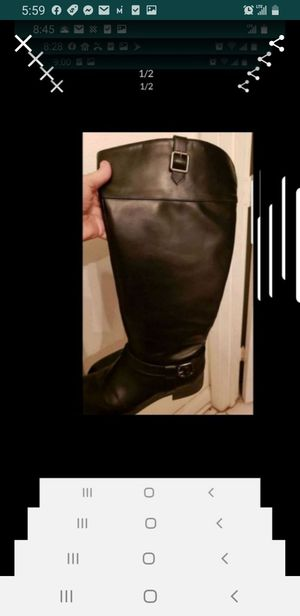 Women's size 10 black boots for Sale in Orlando, FL