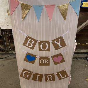 Free Gender Reveal Box for Sale in Mount Vernon, NY