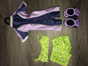 American girl doll Kailey's swimsuit and wet suit outfit for Sale in Mission Viejo, CA