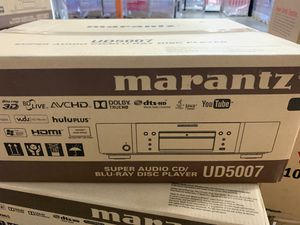 MARANTZ UD5007 SÚPER AUDIO CD/BLU RAY DISC PLAYER UD5007 open box like new for Sale in Doral, FL