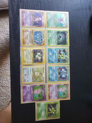 Pokemon card base set ALL HOLOS for Sale in Virginia Beach, VA