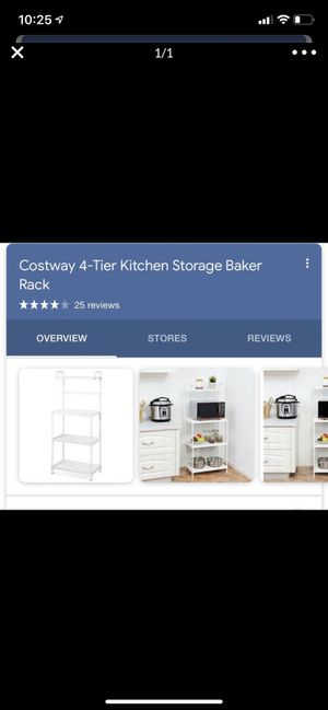 Kitchen storage baker rack for Sale in Pomona, CA