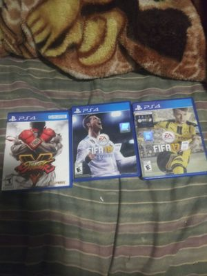 Fifa 17/18... Street fighter V for Sale in Phoenix, AZ