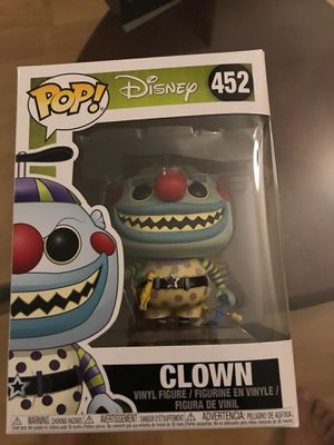 Clown, Disney, Nightmare Before Christmas, Funko POP for Sale in Fountain Valley, CA