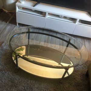 Glass And mirror Coffee Table for Sale in New York, NY