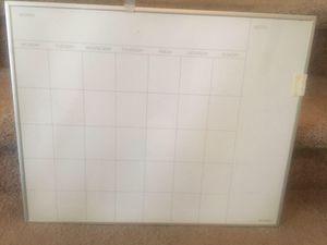 Calendar whiteboard for Sale in Lynchburg, VA