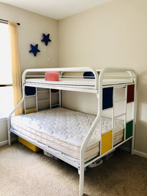 Bunk Bed with Mattress-Twin and Full for Sale in Ashburn, VA