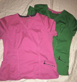 Beyond scrubs women's large tops two for Sale in Wichita, KS