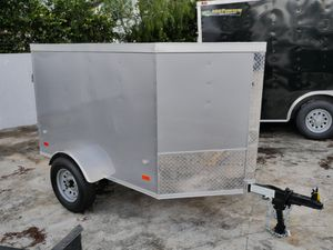 4 x 6 Enclosed Trailer for Sale in Fort Lauderdale, FL