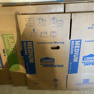 ONCE USED MOVING BOXES for Sale in Arlington, VA