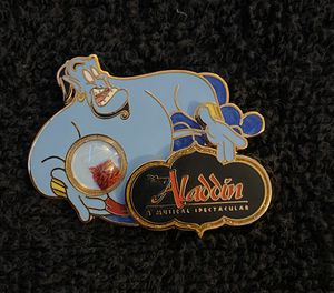 Disney Pin #201, LE (2000), A Piece of Disney History, Aladdin: A Musical for Sale in San Diego, CA