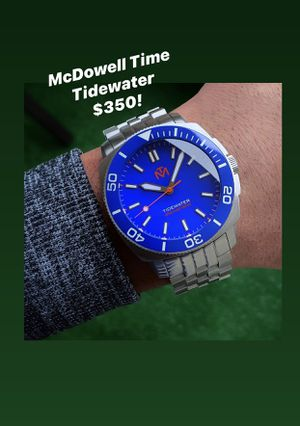 McDowell Dive Mens Dive Watch for Sale in Los Angeles, CA