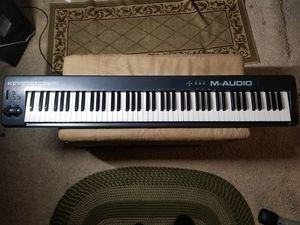 M-Audio 88*Key Midi Keyboard Controller for Sale in San Diego, CA