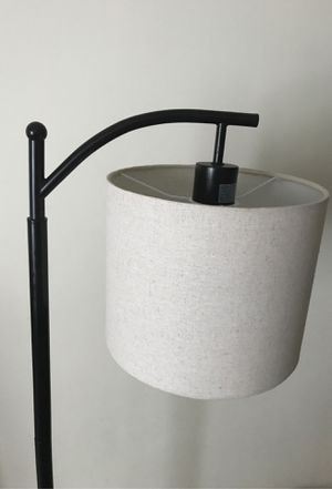 Like new floor lamp for Sale in Boston, MA