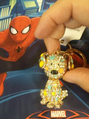 Beautiful PUPPY With Crystals KEYCHAIN for Sale in The Bronx, NY