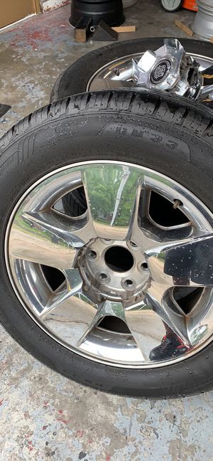 Chrome 20 inch Texas editions for Sale in Humble, TX