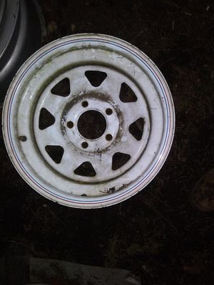 Trailer dually snow lt truck rims and tires for Sale in Graham, WA