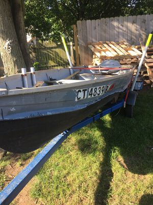 Aluminum boat for Sale in East Haven, CT