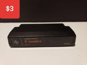 Texas Instruments Computer Game Cartridge TI Invaders for Sale in Sinking Spring, PA