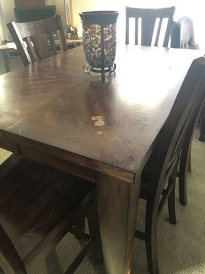 Counter height Ashley dining room table for Sale in Pittsburgh, PA