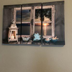 3 Panel Canvas Print for Sale in Ocoee, FL