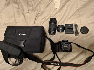 Canon Rebel T6 kit for Sale in Vancouver, WA