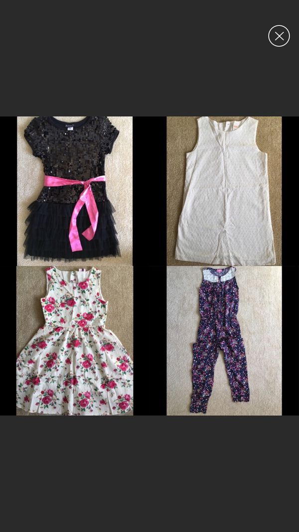 Girls clothes, size10, $25