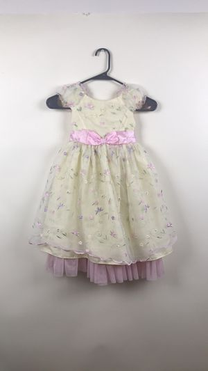 Girls yellow Easter Sunday dress size 4 for Sale in Austin, TX