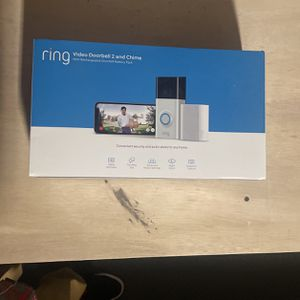Ring Doorbell 2And Chime for Sale in Moreno Valley, CA