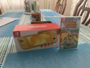 Nintendo Switch Lite DOES NOT INCLUDE ANIMAL CROSSING for Sale in Belle Chasse, LA